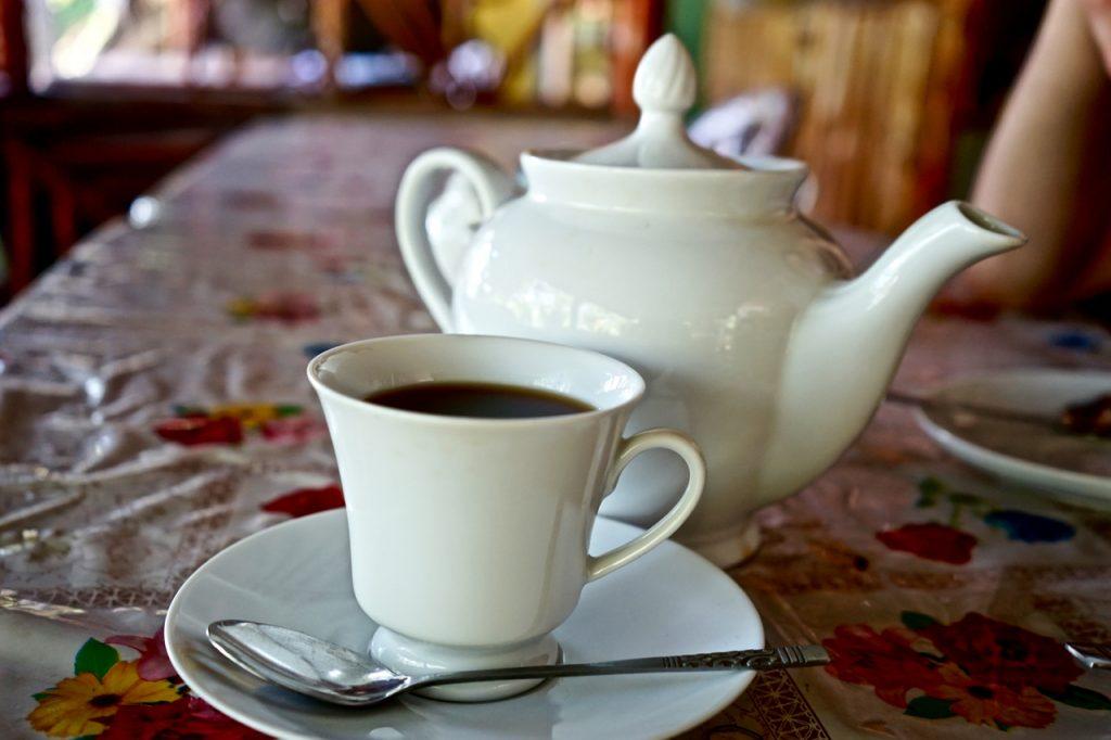 Una tazzina di tè Sri Lanka